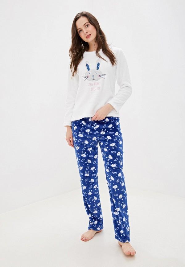 VIS À VIS | белый, синий Женский домашний костюм VIS À VIS | Clouty