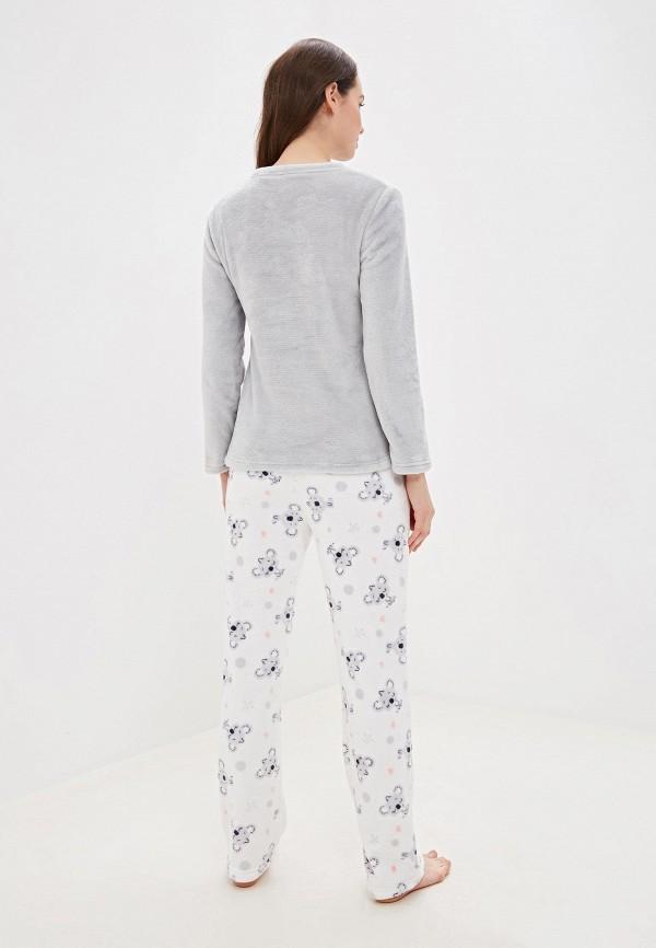 VIS À VIS   белый, серый Женский домашний костюм VIS À VIS   Clouty