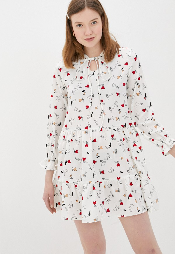 Vickwool | белый Платье Vickwool | Clouty