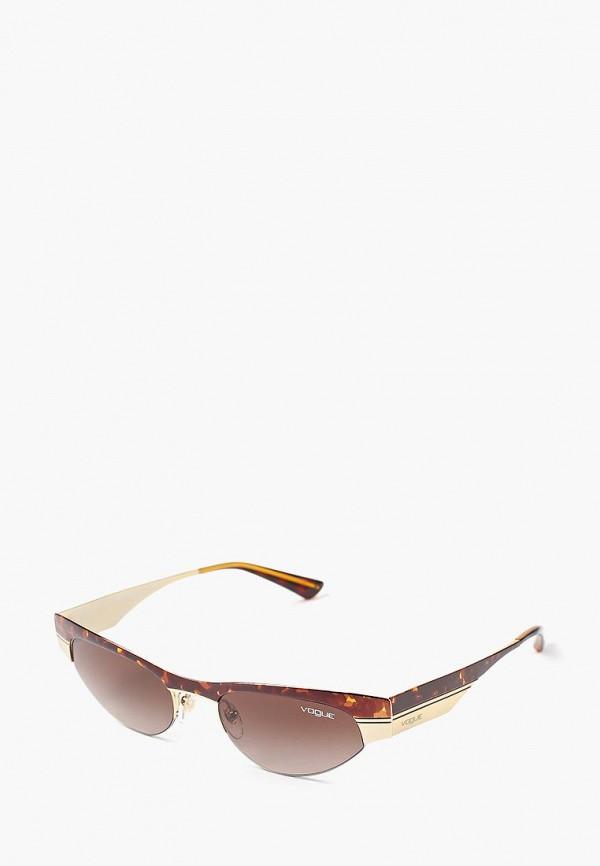Vogue | коричневый Женские летние коричневые солнцезащитные очки Vogue | Clouty