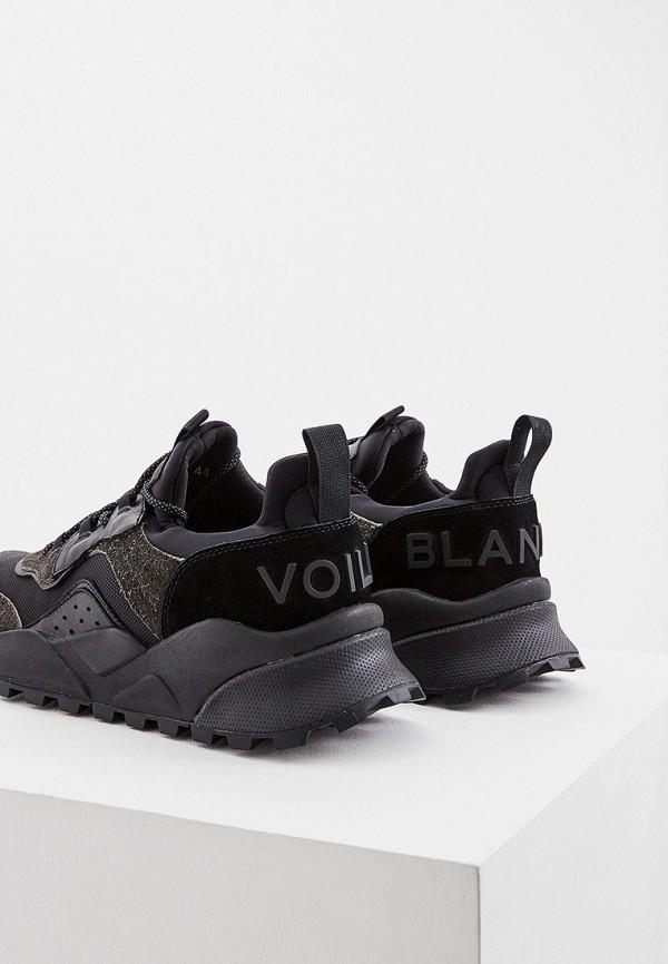 Voile Blanche   черный Мужские черные кроссовки Voile Blanche резина   Clouty