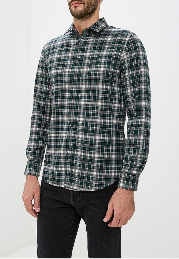 Warren Webber | зеленый Мужская зеленая рубашка Warren Webber | Clouty
