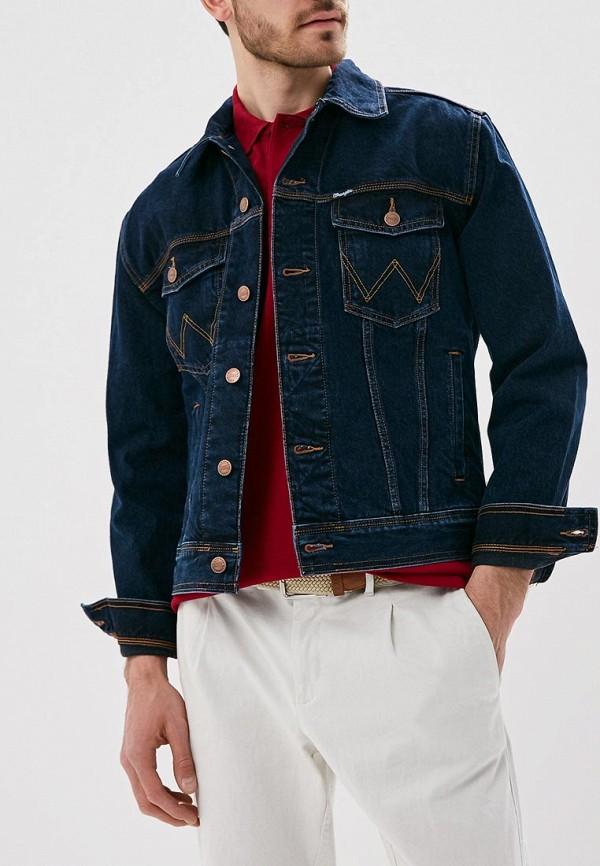 Wrangler | синий Куртка джинсовая Wrangler | Clouty