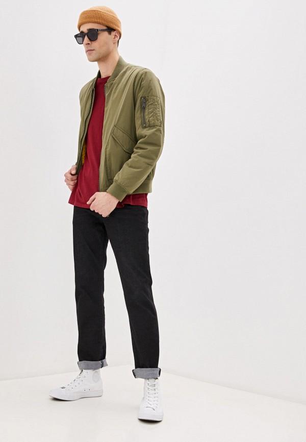 Wrangler | черный Мужские черные джинсы Wrangler | Clouty