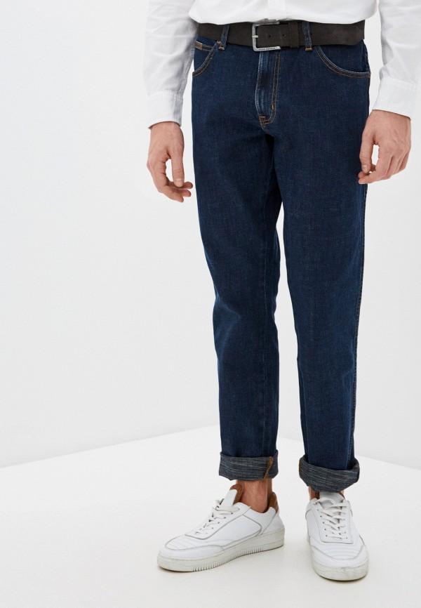 Wrangler | синий Мужские синие джинсы Wrangler | Clouty