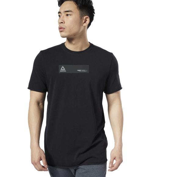 REEBOK | Спортивная футболка Combat Washed Ribbed Reebok | Clouty