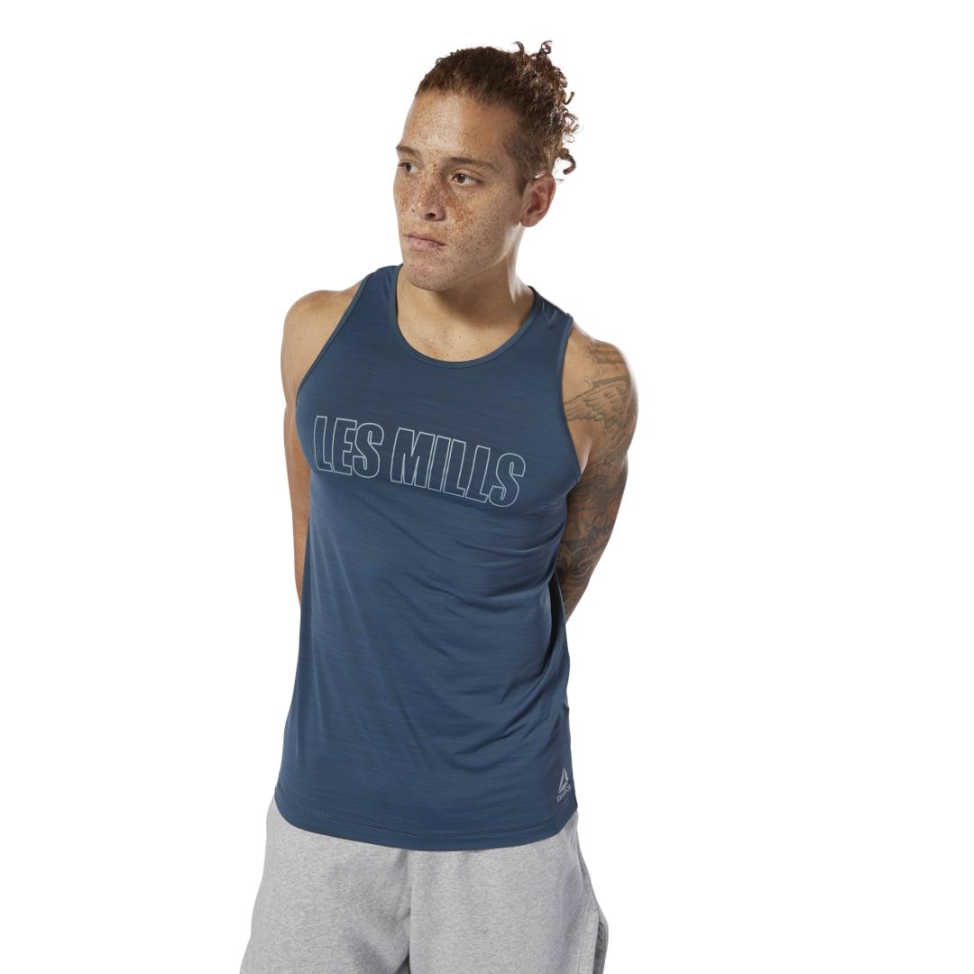 REEBOK | Спортивная майка LES MILLS® ACTIVCHILL Reebok | Clouty
