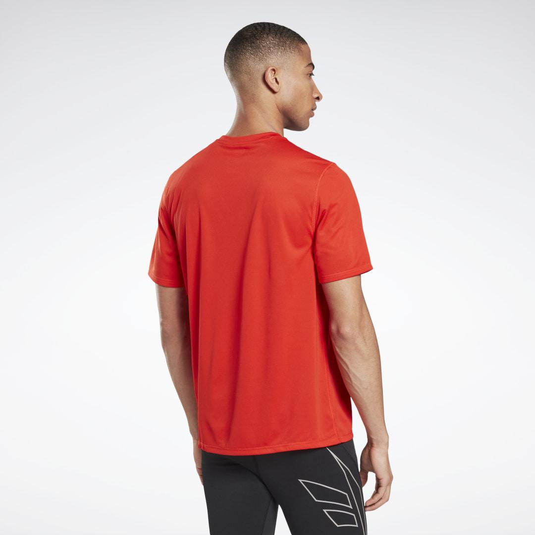 REEBOK | Спортивная футболка Run Essentials Run Fast Reebok | Clouty
