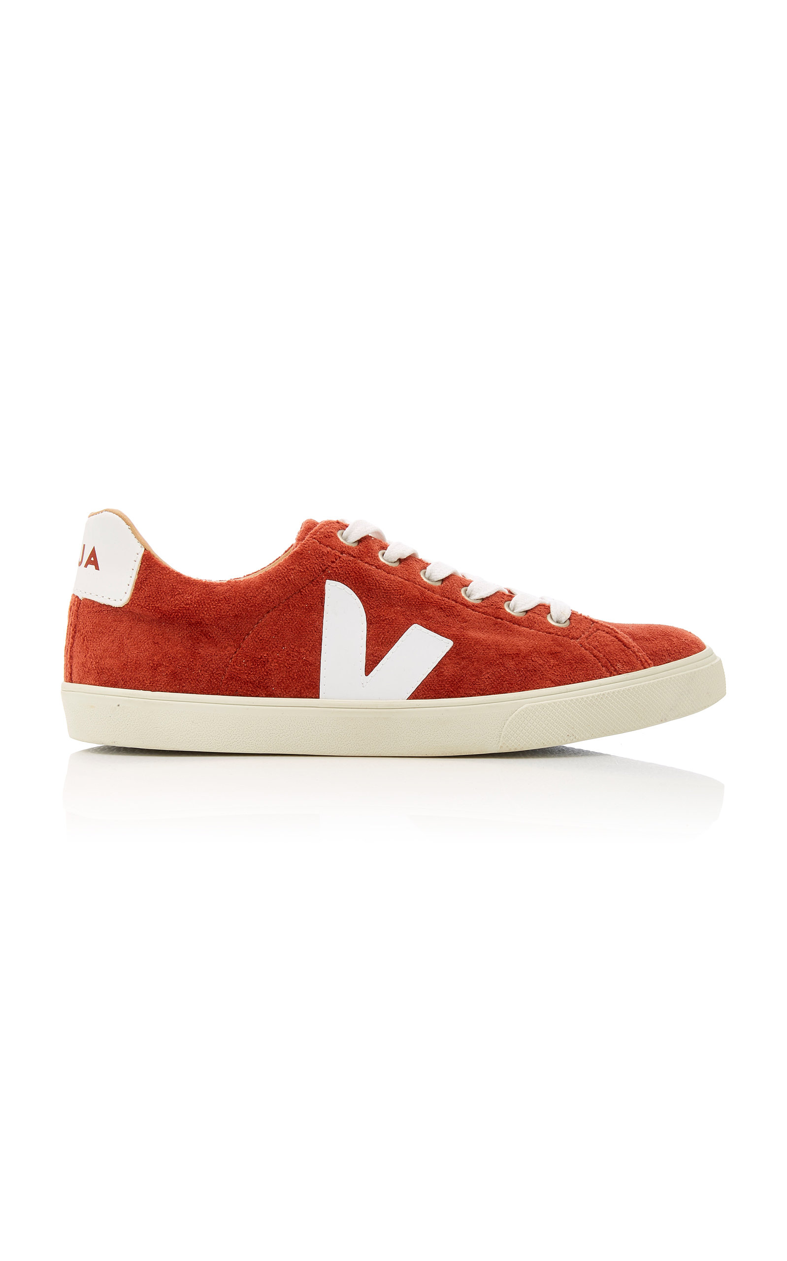 Veja | VEJA Esplar Leather-Trimmed Suede Sneakers | Clouty