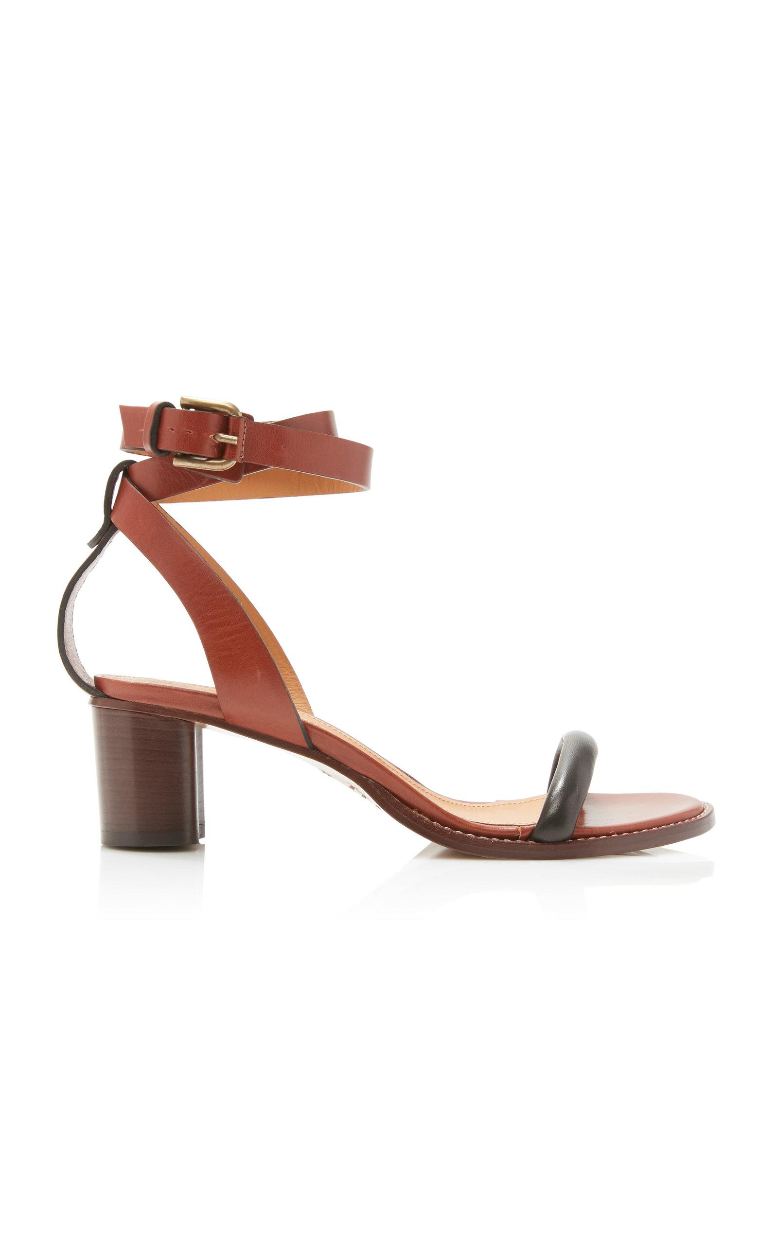 Isabel Marant   Isabel Marant Jadler Leather Sandals   Clouty