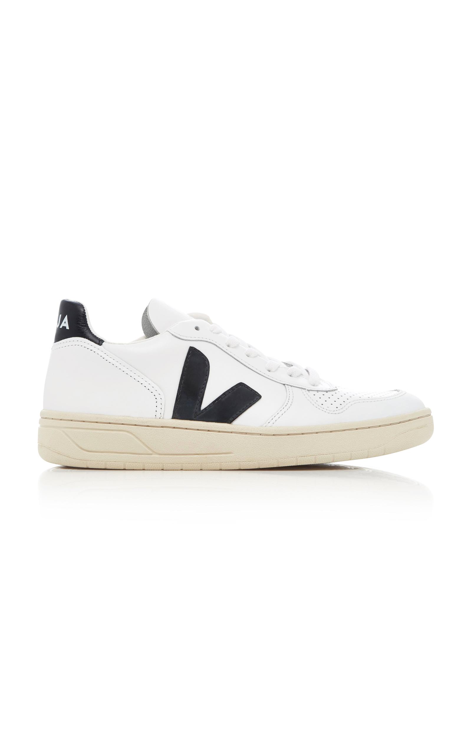 Veja | VEJA V10 Leather Sneakers | Clouty