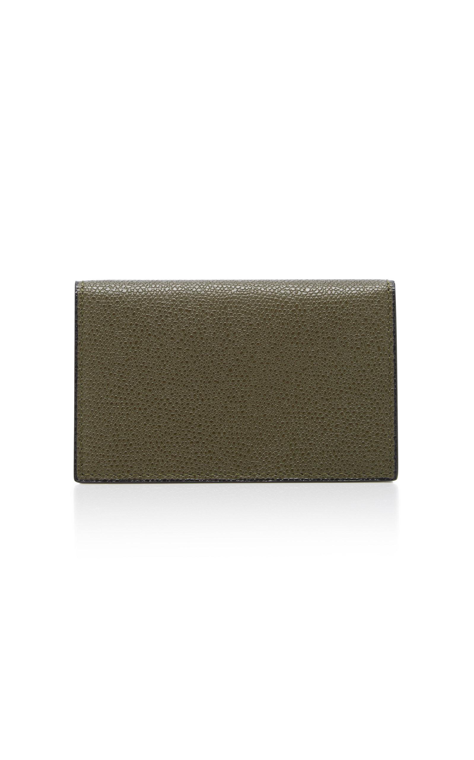 Moda Operandi | Valextra Onda Calfskin Business Card Case | Clouty