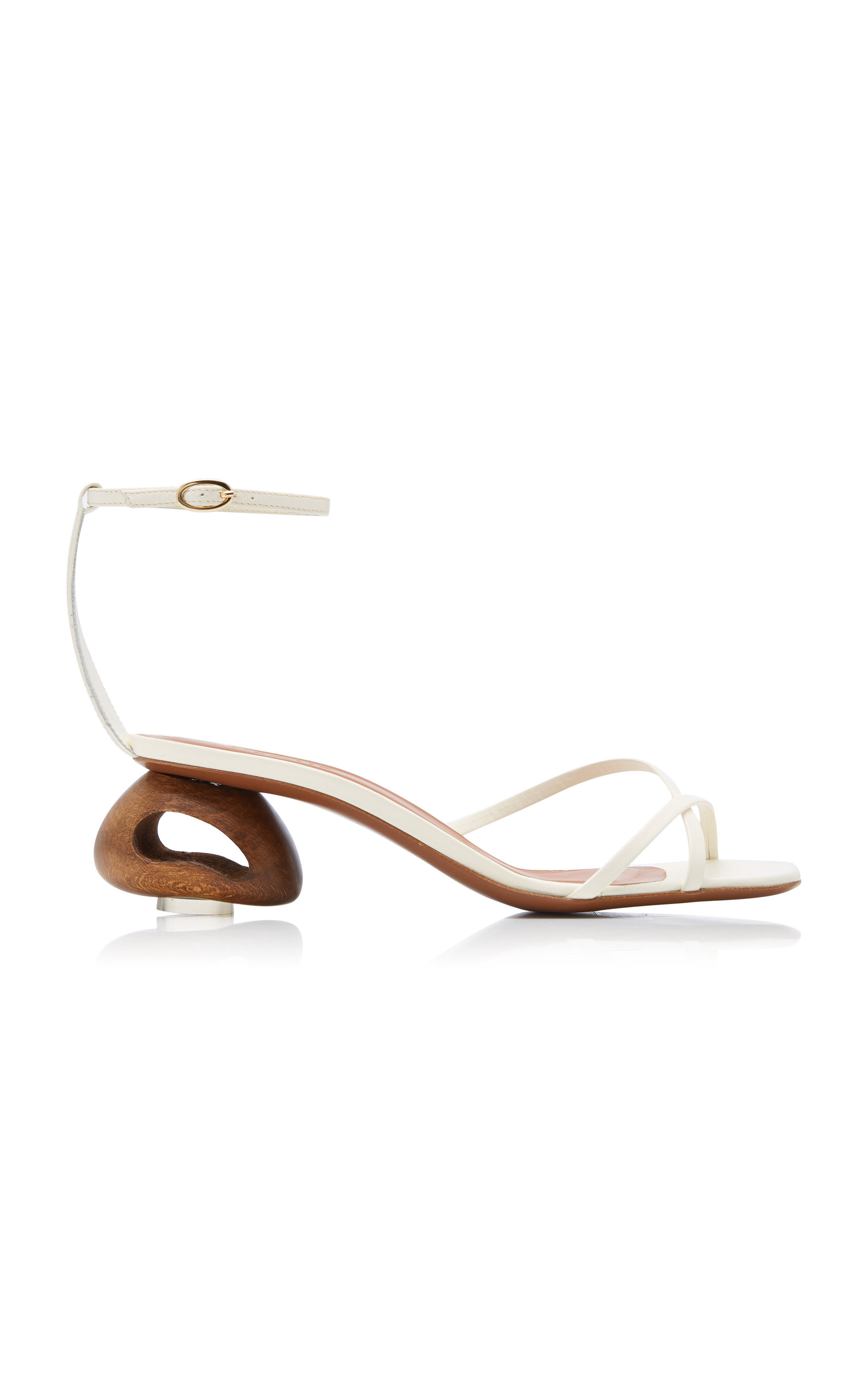 Neous | Neous Phippium Leather Sandals Size: 35 | Clouty