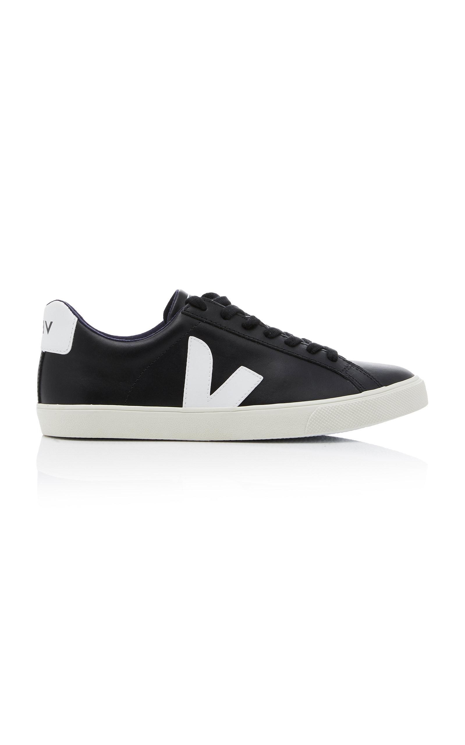 Veja | VEJA Esplar Two-Tone Leather Sneakers | Clouty