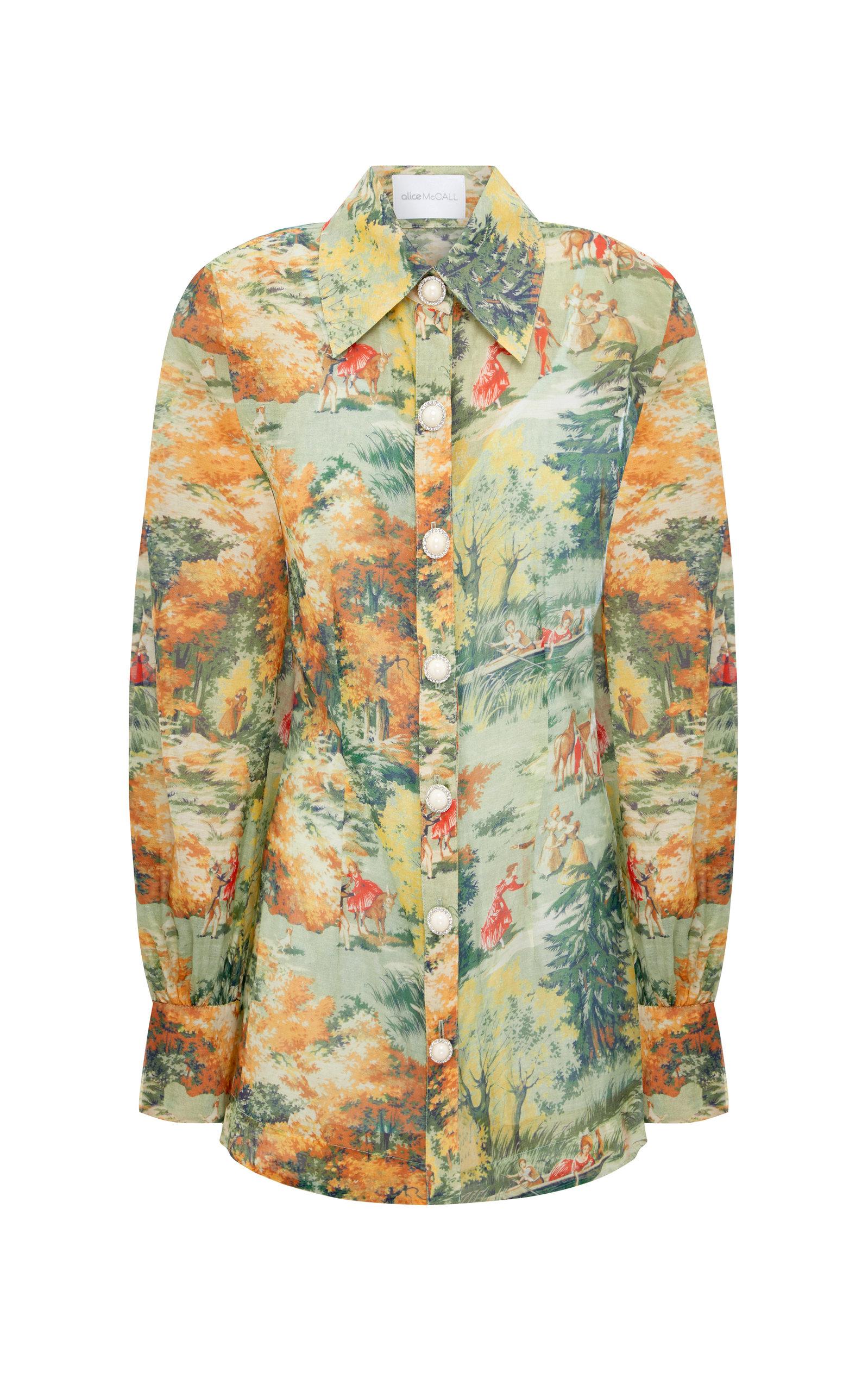 Alice Mccall | Alice McCall Strange Dreams Cotton Shirt Dress | Clouty
