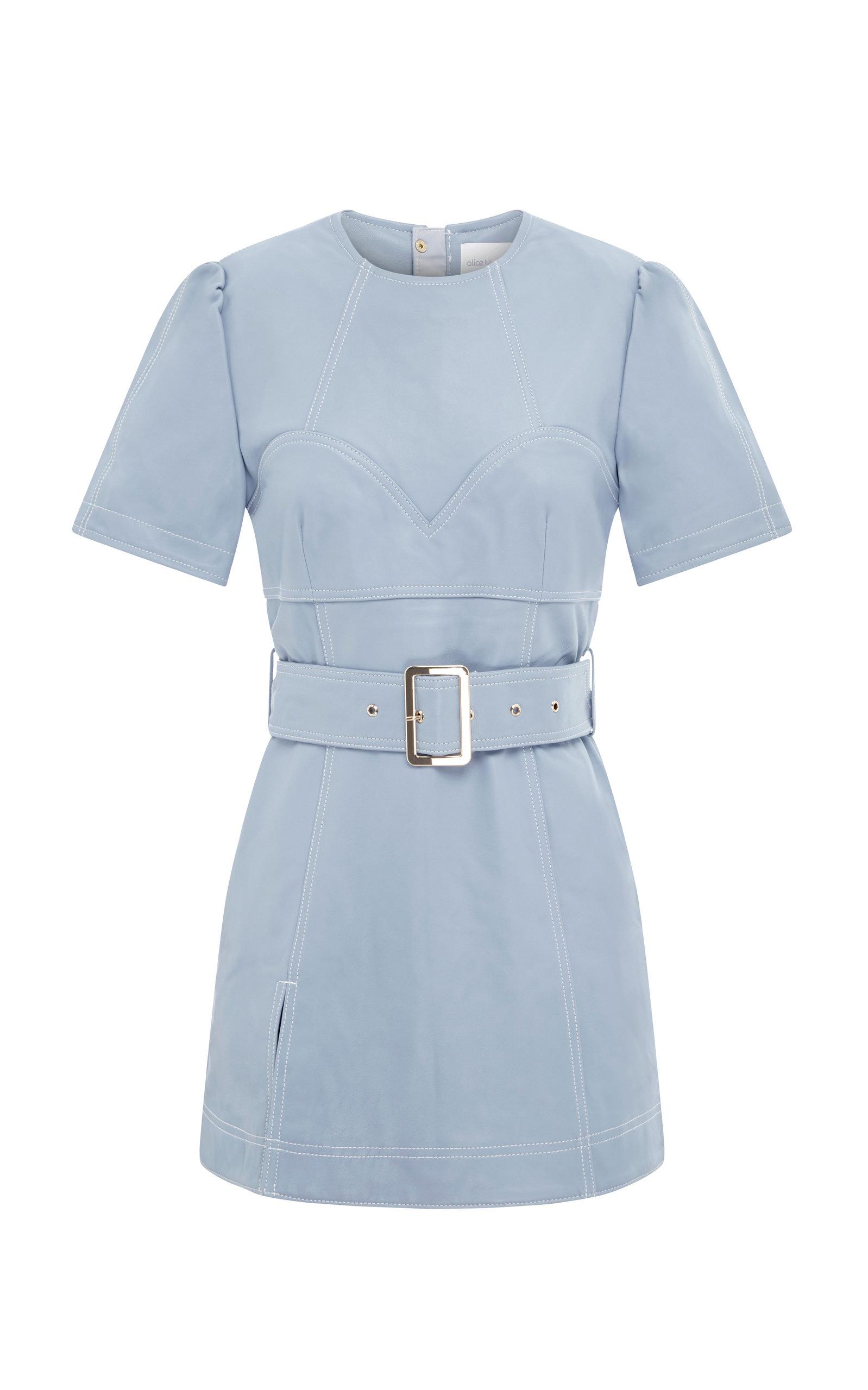Alice Mccall | Alice McCall Incantations Lamb Leather Mini Dress | Clouty