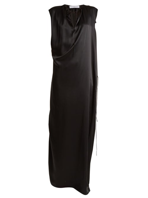 Balenciaga | Balenciaga - Slide Gown - Womens - Black | Clouty