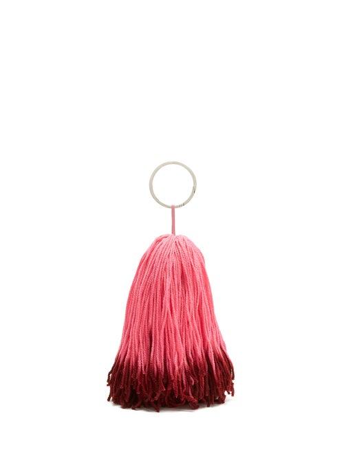 Calvin Klein | Calvin Klein - Wkaa14 Tassel Belt Charm - Womens - Pink Multi | Clouty