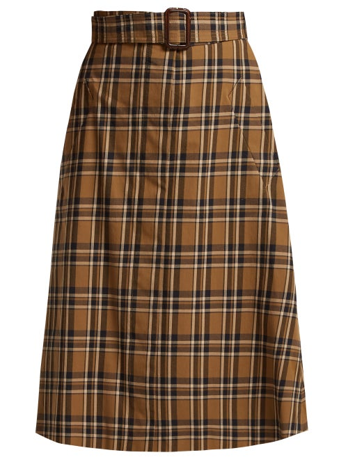 Max Mara S | S Max Mara - Jack Skirt - Womens - Tan Multi | Clouty