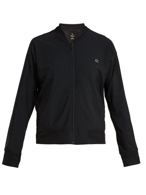 Calvin Klein | Calvin Klein Performance - Logo Bomber Jacket - Womens - Black | Clouty