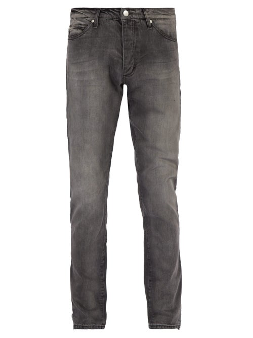 Rhude | Rhude - Breakaway Slim Leg Jeans - Mens - Black | Clouty