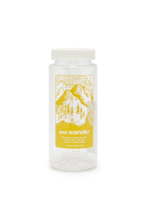 And Wander   And Wander - X Nalgene Mountain 560ml Water Bottle - Mens - Yellow   Clouty