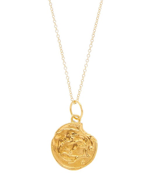 Alighieri | Alighieri - Pisces Gold-plated Necklace - Womens - | Clouty