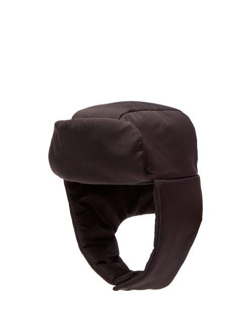PRADA | Prada - Padded Trapper Hat - Mens - Black | Clouty