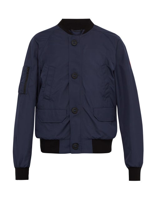 CANADA GOOSE | Canada Goose - Faber Bomber Jacket - Mens - Navy | Clouty