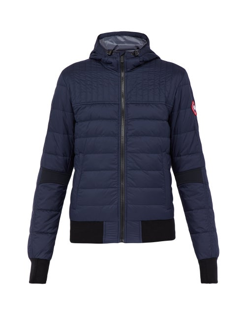 CANADA GOOSE | Canada Goose - Cabri Quilted Down Jacket - Mens - Navy | Clouty