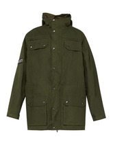 Vetements - Military Style Cotton Parka - Mens - Green