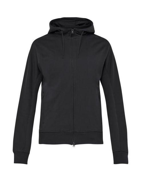 Y-3 | Y-3 - Hooded Cotton Sweatshirt - Mens - Black | Clouty