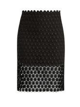Фото Paco Rabanne - Black Crochet Skirt - Womens - Black