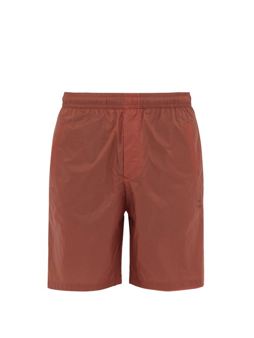 Acne Studios | Acne Studios - Ripstop Shorts - Mens - Orange | Clouty