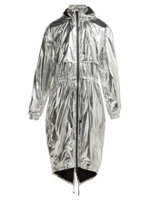 Фото Paco Rabanne - Reflective Technical Hooded Jacket - Womens - Silver