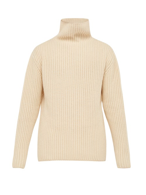 Arje | Arje - The Giacomo Wool Blend Sweater - Mens - Cream | Clouty