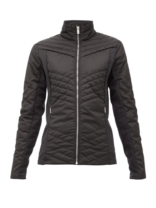 Fusalp   Fusalp - Vici Quilted-shell Ski Jacket - Womens - Black   Clouty