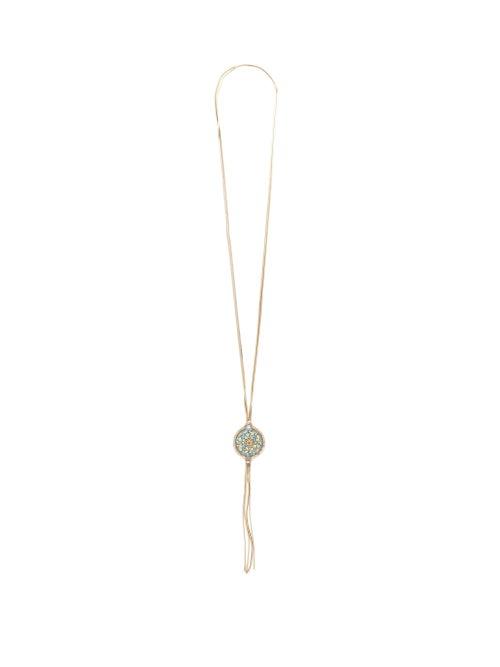 Rosantica | Rosantica - Sicilia Pendant-tassel Necklace - Womens - Multi | Clouty