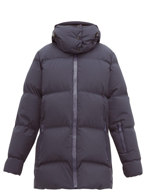 Aztech Mountain | Aztech Mountain - Elk Quilted-down Jacket - Womens - Navy | Clouty