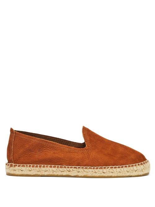 Manebi | Manebi - Canyon Nubuck Espadrilles - Mens - Brown | Clouty
