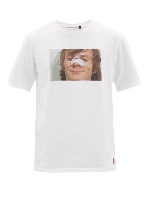 UNDERCOVER | Undercover - A Clockwork Orange-print Cotton T-shirt - Mens - White | Clouty