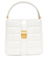 Фото Bottega Veneta - Padded Marie Leather Tote Bag - Womens - White