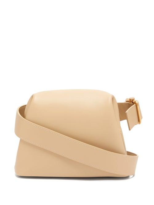 Osoi | Osoi - Brot Mini Leather Cross-body Bag - Womens - Beige | Clouty