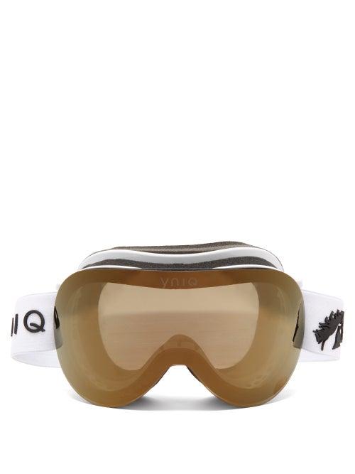 YNIQ | YNIQ - Model Two Ski Goggles - Womens - White Gold | Clouty