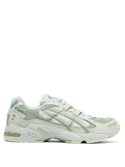 Asics X GMBH | Asics X Gmbh - Gel Kayano 5 Og Leather Trainers - Mens - Green | Clouty