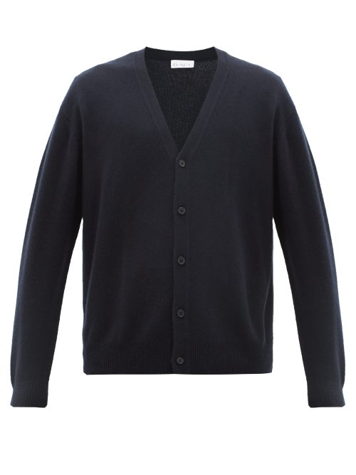 Raey | Raey - Loose-fit Cashmere Cardigan - Mens - Navy | Clouty