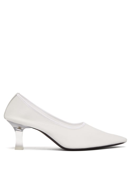 The Row   The Row - Sock Mesh Pumps - Womens - White   Clouty