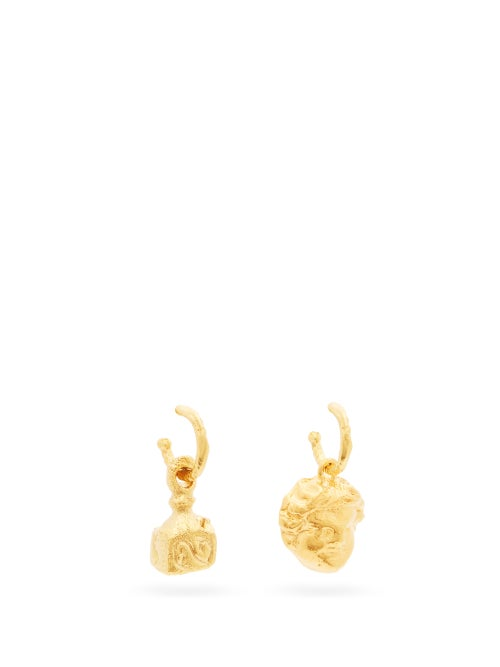 Alighieri | Alighieri - Casella And The Music 24kt Gold-plated Earrings - Womens - | Clouty