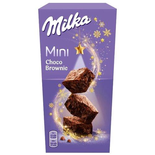Milka   Пирожное Milka Mini Brownie 117 г   Clouty