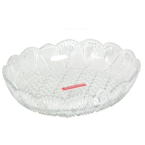 Noritazeh | Noritazeh Блюдо Glass Co New Carat, 27 х 22 см прозрачный | Clouty